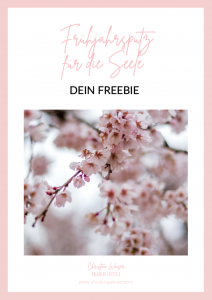 "Freebie ""Frühjahrsputz für die Seele"""